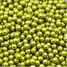 Шарики сахарные золотые 2 мм