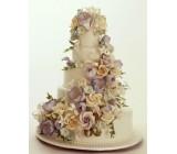 Мастика Белая для лепки цветов Bakels 5 кг ведро