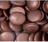 Глазурь Карибе диски черные, 1кг