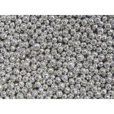 Шарики сахарные серебряные 7мм